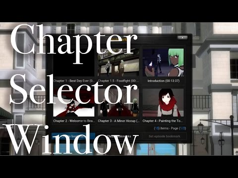 Chapter Selector Windows