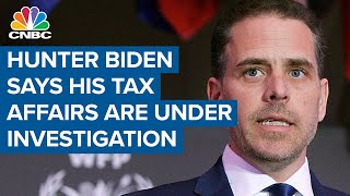 Cnbc's shep smith reports an investigation has been announced into the taxes of hunter biden, son president-elect joe biden. for access to live and exclus...