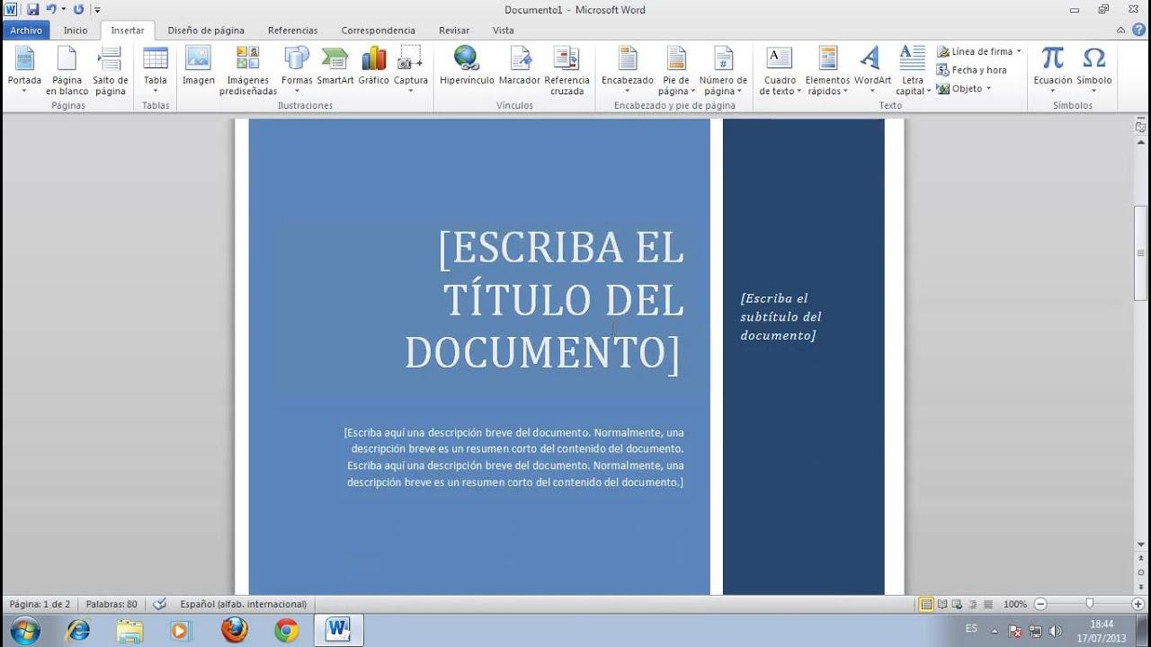 como hacer flyers en word