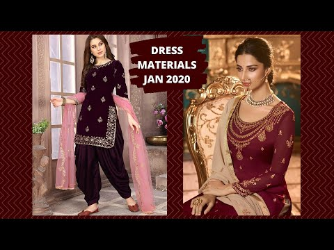 Unstitched Salwar Kameez Catalogs - Jan 2020 Launch