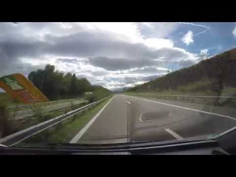Driving from Vaduz to the Liechtenstein-Austria Border to Lu