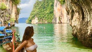 Тайланд 2018/Krabi islands. Морская экскурсия по островам Краби: Ладинг или Парадайз и Хонг.