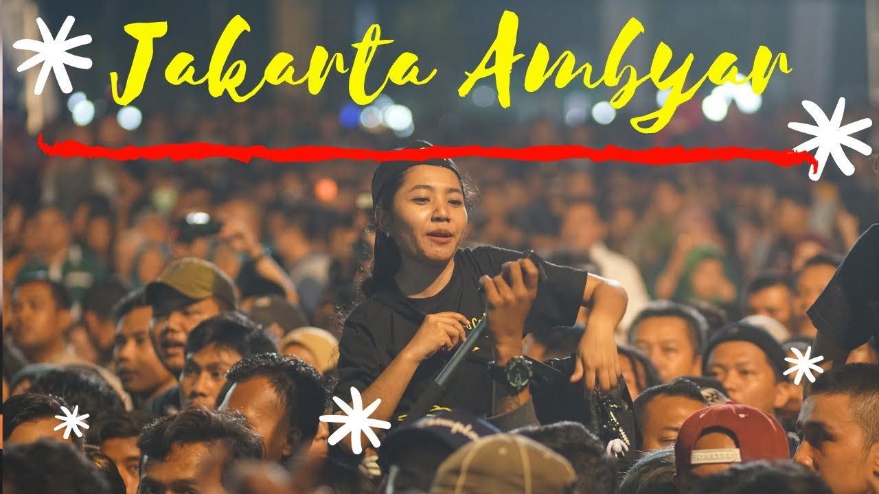 Didi Kempot Salam Ambyar Dari Sobat Ambyar Jakarta Youtube