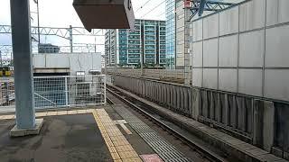 【千早駅・813系・普通】813系RM107+RM1115普通海老津行到着シーン