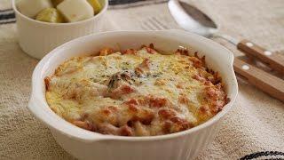 Baked Spaghetti with Cheese : Honeykki 꿀키