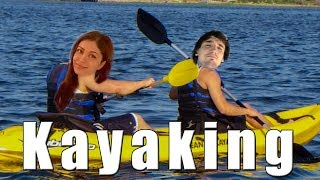 Best twitch duo in texas - kayaking with Mira