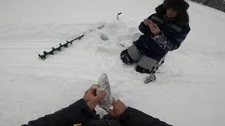 Рыбалка с Сыновьями Лёха в деле