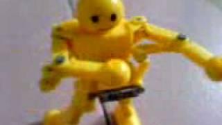可愛又會動的機器人.
