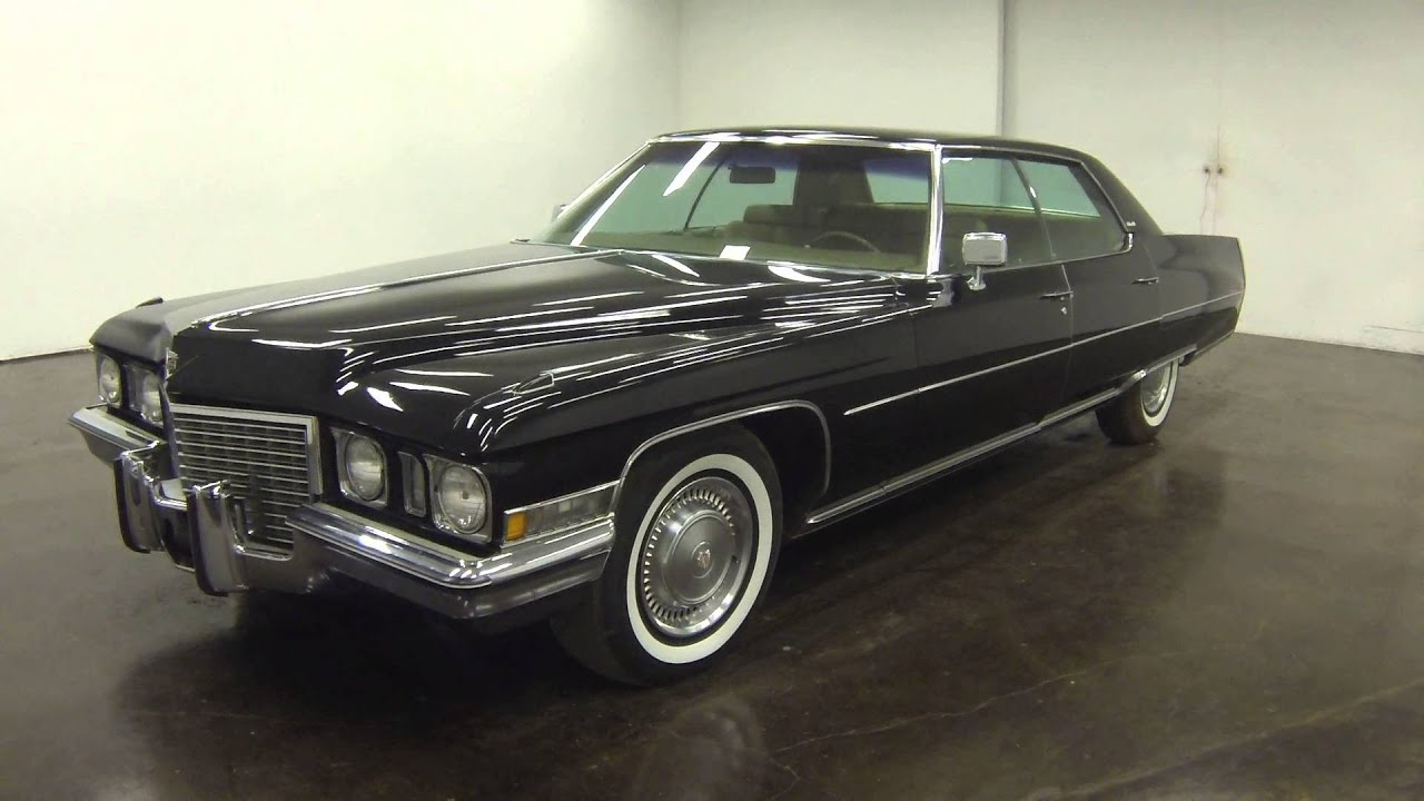 1972 Cadillac Sedan Deville 29k original mile Survivor - YouTube