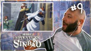 "Magi Adventure Of Sinbad Episode 9 REACTION ""Sasan, The Land Of Purity"""