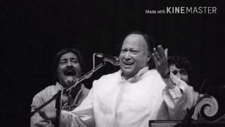 LETAST Remix Song by Nusrat fateh Ali khan - Tere Bin, Tere Bin Nahi Lagda Dil Mera Dholna  Without