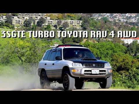 Toyota Tuesday Ft Bob 1998 Rav 4 3sgte Turbo 4wd Must Watch Youtube