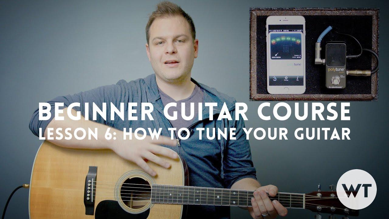 How to tune a newbie guitar 67