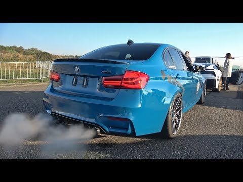 740HP BMW M3 F80 HPT with LOUD POPS & BANGS EXHAUST!