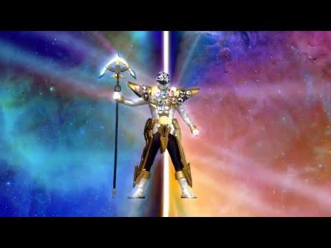 Power Ranger Super Megaforce | Super Mega Dorado - transformación de Orion