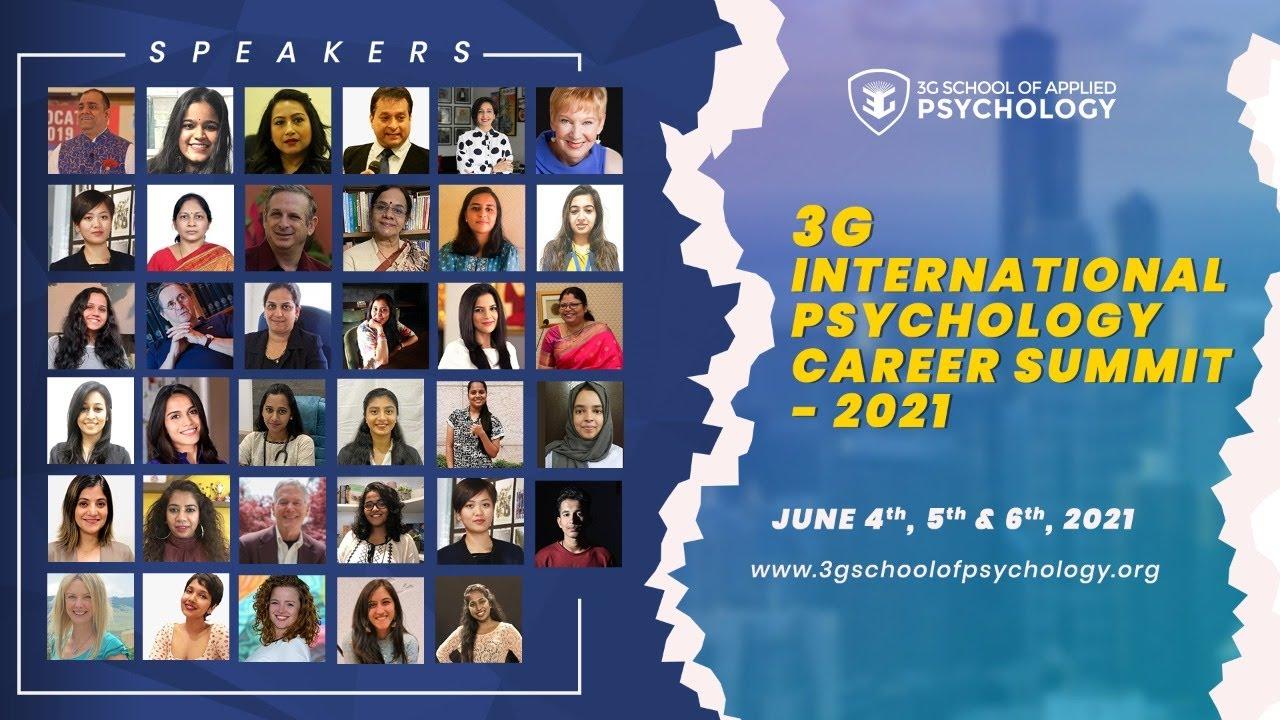 Download 3G International Psychology Career Summit - JUNE 2021 DAY-2