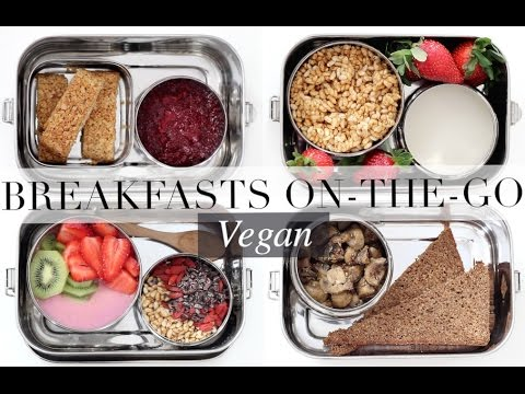 Breakfasts On-The-Go (Vegan/Plant-based) | JessBeautician