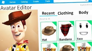 MAKING TOY STORY 4 a ROBLOX ACCOUNT