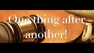 The Behan Law Group, P.L.L.C. Video - One Thing After Another.