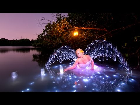 Light Painting Tutorial: How To Light Paint Wings