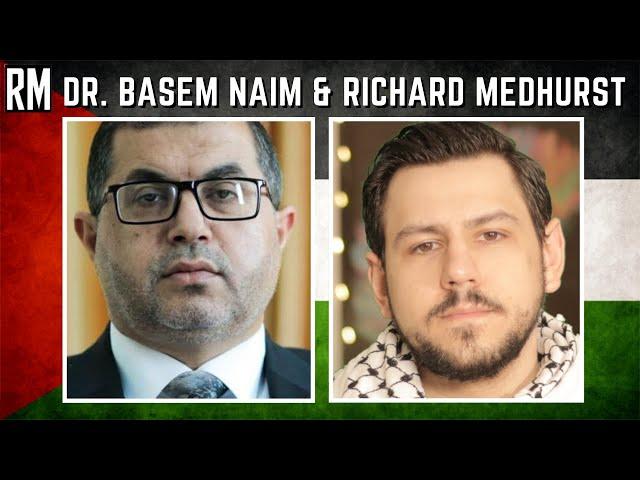 Former Palestinian Minister of Health & Richard Medhurst LIVE
