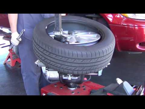 Tire Installation With Cooper Tires