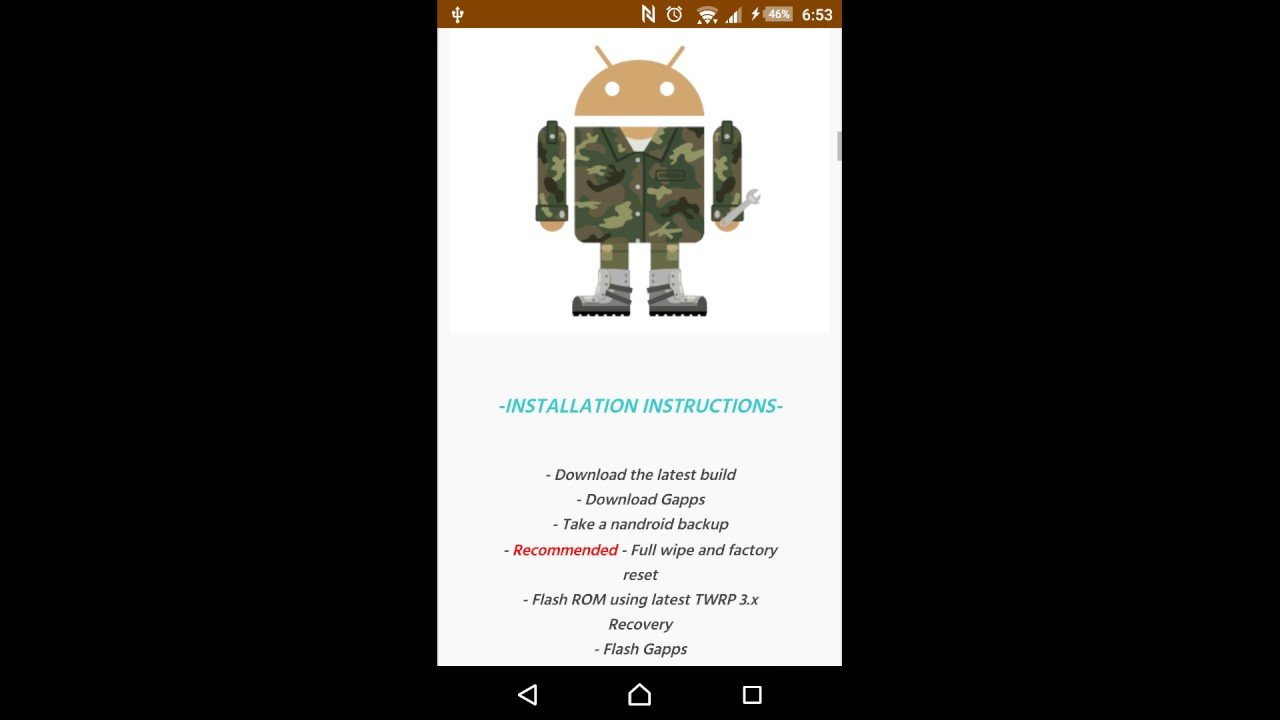 Android 7 1 Nougat for Xperia Z1   Android N   Cyanogenmod