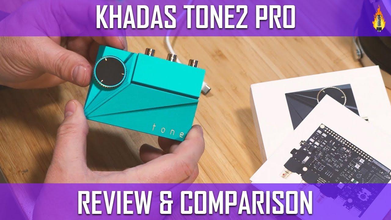 Khadas Tone2 Pro - Fantastic DAC, Headphone AMP: watch before buying.