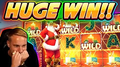 Ante gets a HUGE WIN!!!! Secrets of Christmas BIG WIN - Slot from Netent played by Casinodaddy