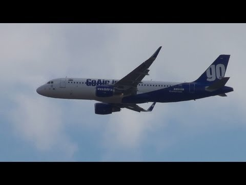 GoAir A320 Sharklets [PT-GOW] | Final Approach to Hamburg Airport