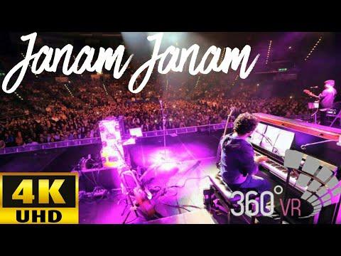 Arijit Singh LIVE In Virtual Reality | 360° | 4K UHD | Janam Janam