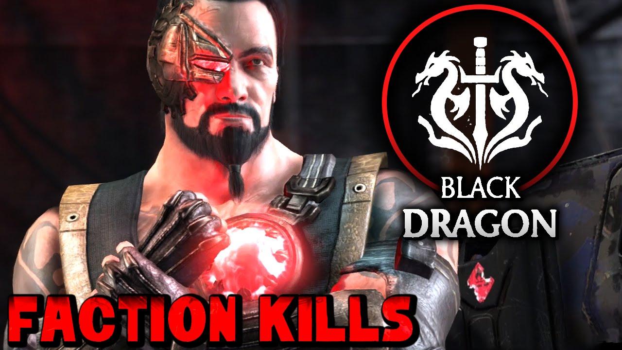 Mortal Kombat Dragon: Mortal Kombat X: Black Dragon Faction Kills