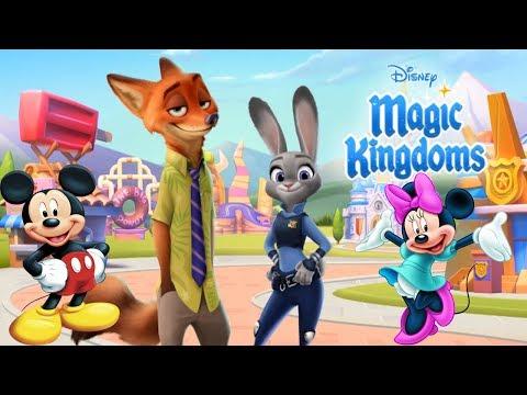 Волшебные королевства Disney #1 Детская игра как мультик Видео с любимыми героями Lets play
