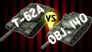T-62A vs OBJ. 140 Short Film/Review | World of Tank Blitz (WOTB)