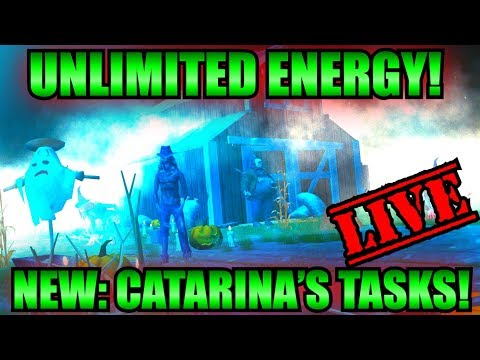 LIVE STREAM: (BUG) Infinite Energy | Then Grinding Catarina'