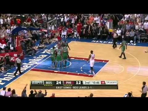 NBA Playoffs Conference 2012: Boston Celtics Vs Philadelphia Sixers Highlights May 18, 2012 Game 4