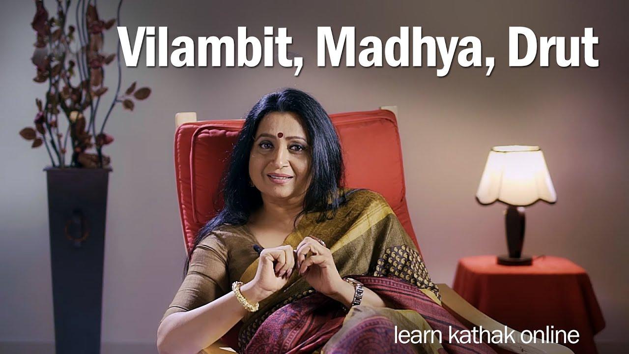 Understanding Laya | Differences between Vilambit Madhya Drut & Egun Dugun Tigun Chaugun | Kathak