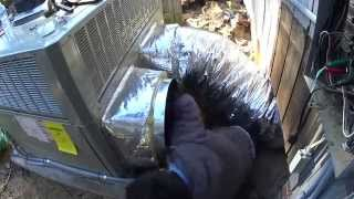 HVAC Installation: Trane XL1100 Replaced: A Day in the Life Episode 4