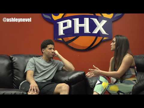 Devin Booker Talks about Deandre Ayton, Not Missing the Playoffs Again and More.
