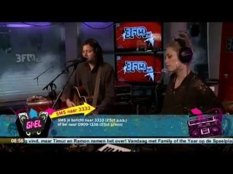 Team Live at 3FM in de Ochtendshow