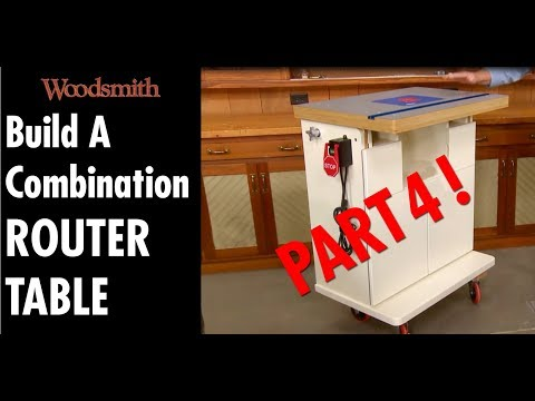 Build A Combination ROUTER TABLE! - Part 4