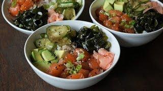 Poke Bowl: Delicious, Healthy and Balanced Dish- Morgane Recipes