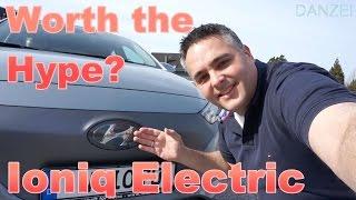Probefahrt, Testbericht, Mini Roadtrip mit Hyundai IONIQ Electric und Vergleich mit Renault ZOE
