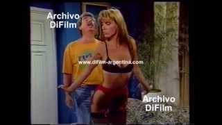 """DiFilm - Avance Programa """"Pizza Party"""" con Emilio Disi y Dorys del Valle (1992)"""