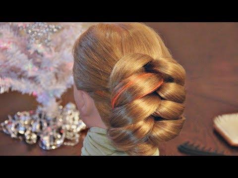 Причёски на основе обёрнутых хвостов - очень просто! - Hairstyles by REM