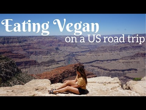EATING VEGAN ON A US ROAD TRIP   THE GRAND CANYON