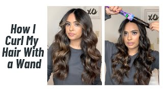 HOW TO CURL YΟUR HAIR WITH A WAND (FOR BEGINNERS)