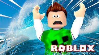 ROBLOX-The WORLD's BIGGEST TSUNAMI!!