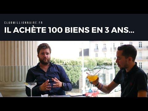 IL A ACHETÉ 100 BIENS IMMOBILIER EN 3 ANS !