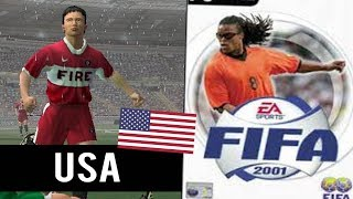 Fifa 2001 HD Gameplay (PS2) MLS Clubs Cup